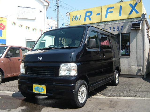 ホンダ M・4WD車・リモコンキー・社外アルミ・CDデッキ・バイザー