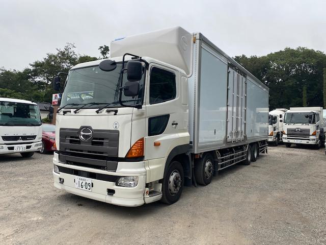 日野  冷蔵冷凍車 4軸低床 サブエンジンTU100SA-Multi
