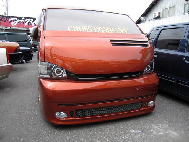 トヨタ ハイエースワゴン GL 内外装カスタム済み