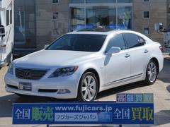 LS 600hver S−I 4WD マクレビ 黒革 サンルーフ