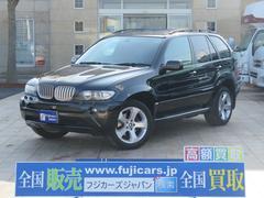 BMW X53.0i スポーツパッケージ HDDナビ 黒革 サンルーフ