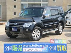 パジェロロング エクシード SDナビ オートクルーズ 切替4WD