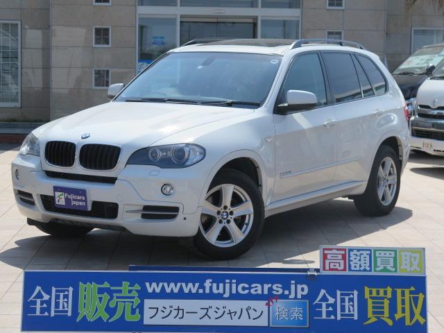 BMW 3.0si メーカーナビ 黒革 SR ルーフレール HID