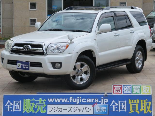 トヨタ SSR-G メーカーHDDナビ ベージュ革 サンルーフ