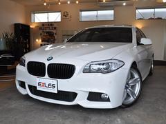 BMW528i Mスポーツ サンルーフ ディーラー左H下取り入庫車