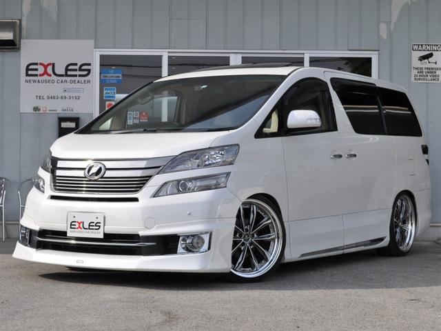 トヨタ 3.5V Lエディション本革サンルーフ21AWプレミアムSS