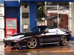 サバンナRX−7HDD地デジナビ MS車高調 RAYS18AW MSマフラー