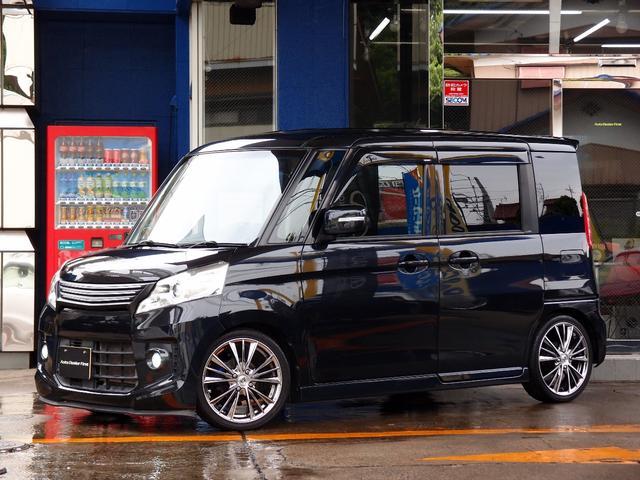 スズキ TS HDD地デジナビ 車高調 16AW 両側電動 禁煙車
