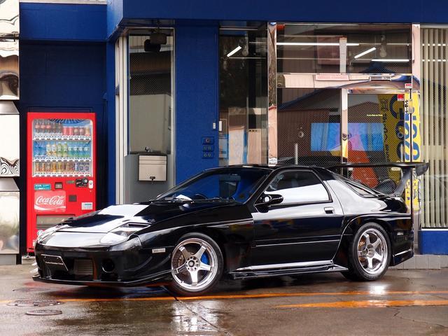 マツダ GT-R HDDナビ パワーFC TD06タービン 車高調