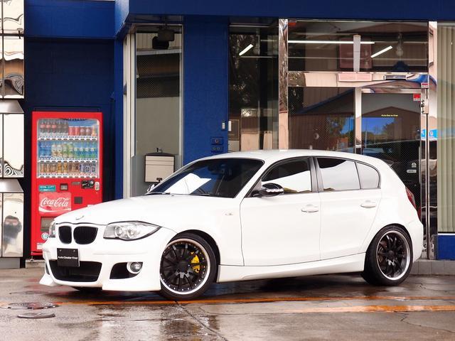 BMW 1シリーズ 130i Mスポーツ HDDナビ 革 車高調W...