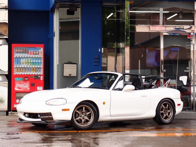 マツダ RS Defiナビ 車高調 SSR15AW Tベル交換済