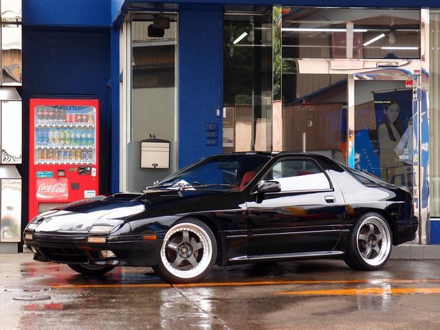 マツダ GT-X 車高調 WORK18AW 各ベルト新品 マフラー