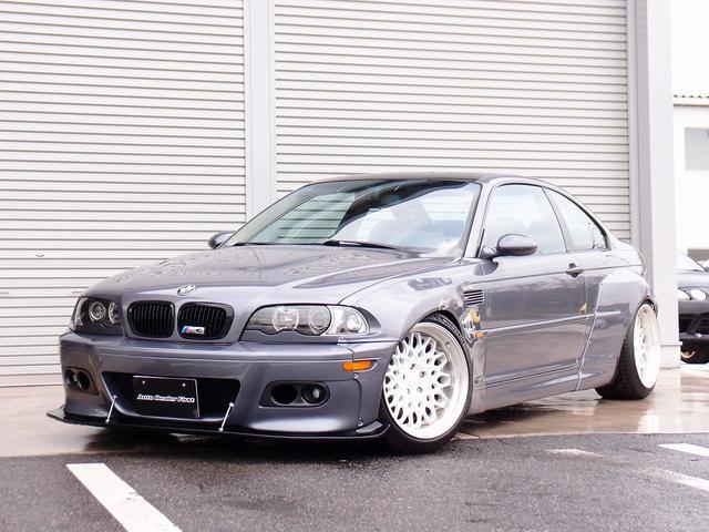 BMW M3 M3クーペ カロッツエリアHDDナビゲーション サンルーフ arc車高調 WORKシーカーCX 18AW ロケットバーニーボディキット カスタムオーディオ車両 リアウイング加工 マフラー ETC HID レーダー