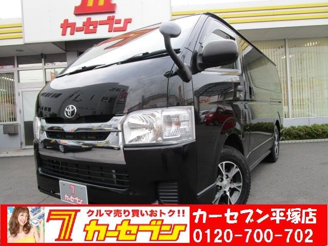 トヨタ ロングDX GLパッケージ ディーゼル 4WD 9人乗