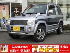 パジェロミニエクシード 4WD ターボ ナビ TV Bモニタ 社外マフラ