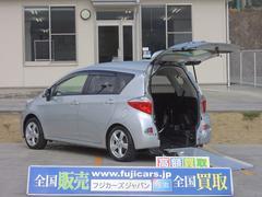 ラクティス 福祉車両 スロープ 車椅子電動固定 後退防止ベルト(トヨタ)
