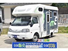 バネットトラックキャンピングカー ナッツRV マッシュX FF ソーラー