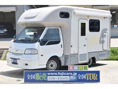 バネットトラックキャンピング ナッツRV マッシュW 4WD FFヒーター