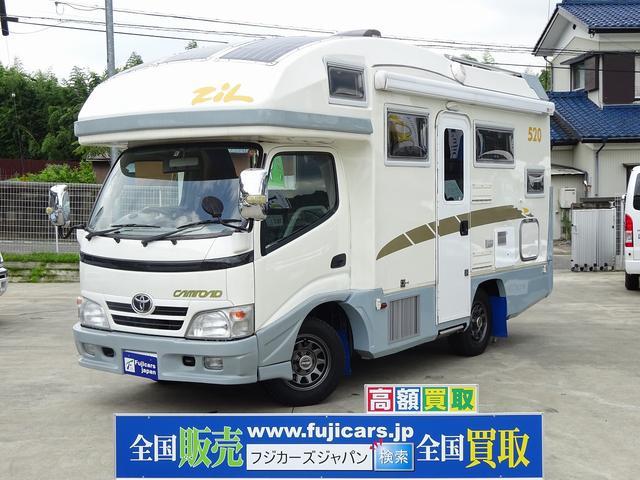 トヨタ キャンピング バンテック ジル520 エアコン 発電機