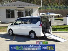 セレナチェアキャブ スロープ 車イス2基 電動ウィンチ
