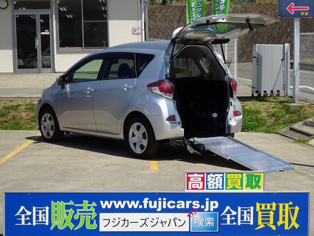 トヨタ ウェルキャブ福祉車両 スロープ5人 ETC オートライト