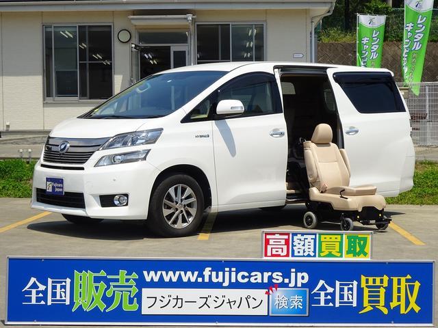 トヨタ 福祉車両ウェルキャブ サイドリフト ナビ Bカメラ ETC