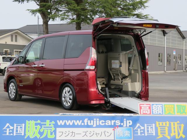 日産 福祉車両チェアキャブ スロープ 7人 X Sハイブリッド
