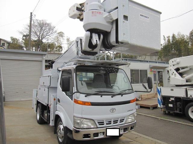 トヨタ 高所作業車 愛知車両製SH15B