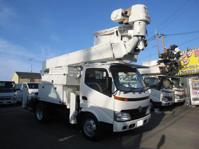 トヨタ  高所作業車 愛知車両製SN15B 低騒音サブエンジン付 電工仕様