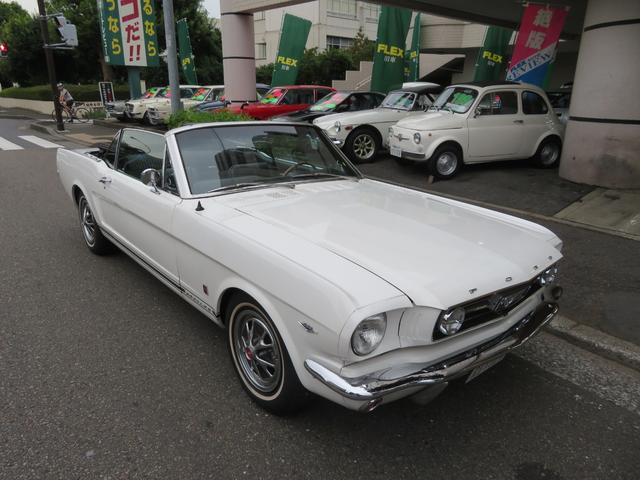 フォード コンバーチブル GT  289V8 4バレルキャブ Aコード ポニーインテリア