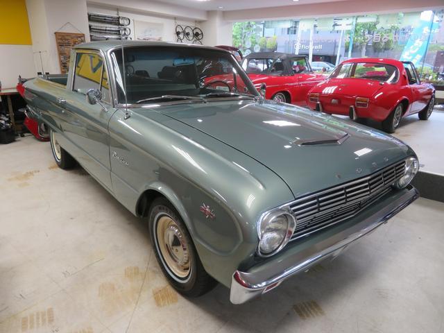 フォード  ランチェロ 260V8 4speed レストア車 エンジンフルO/H キャブ新品 ラジエーター新品 国内未登録車