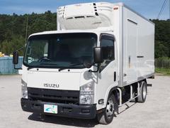 エルフトラックワイドロング 2エバ 冷凍車 低温