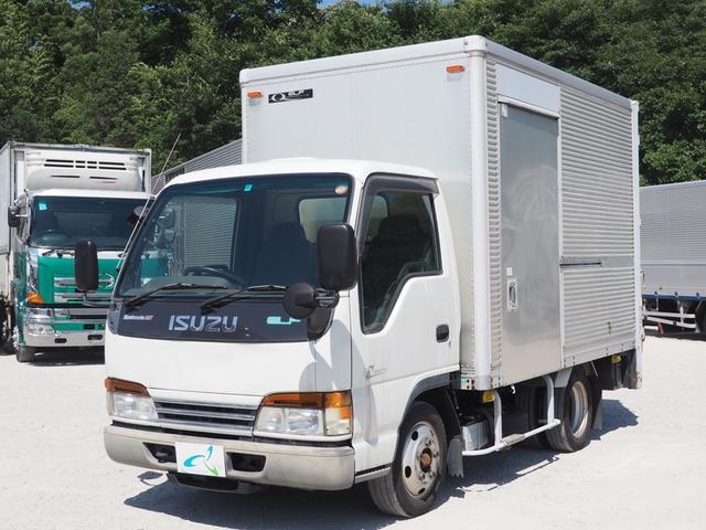 いすゞ 垂直ゲート付 マニュアル5速 サイドスライド扉付