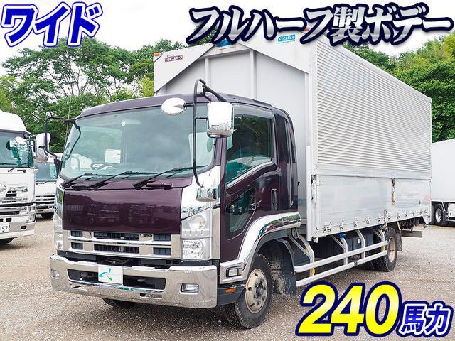 いすゞ ワイドボデー 積載2.9トン 日本フルハーフ製 240馬力