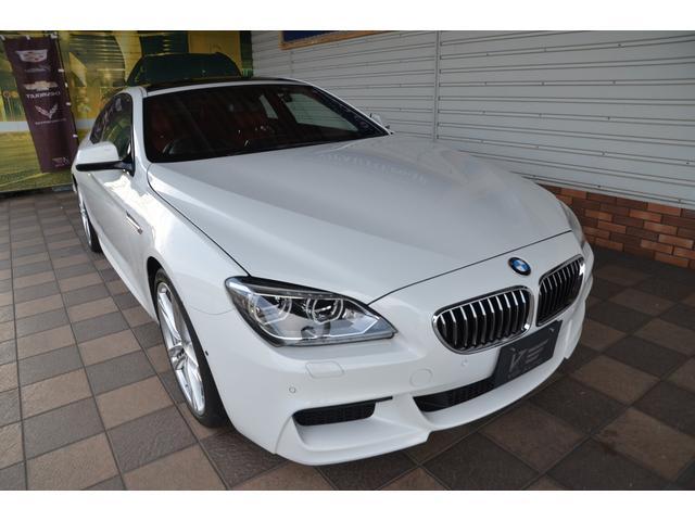 BMW 640d 3.0デーゼルターボ 新車並行1オーナー2013M