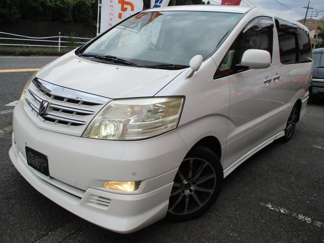 トヨタ MZ Gエディション 革シート サンルーフ HDDナビ
