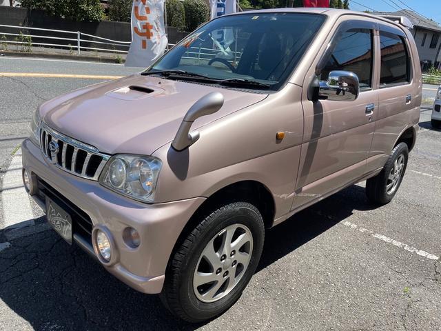 ダイハツ X 4WD ターボ 5速MT 禁煙車