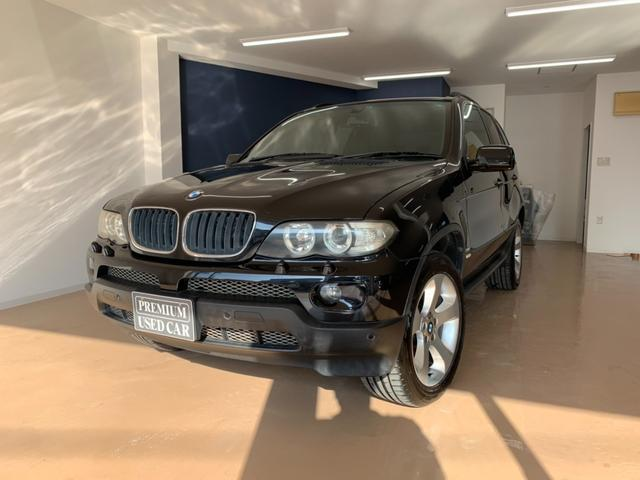 BMW X5 3.0i HID 4WD 盗難防止装置付き CD パワーシート