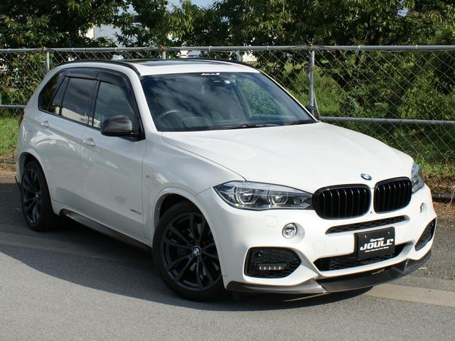 BMW xDrive 50i Mスポーツ 4WD カーボンスポイラー