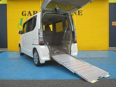 N BOX+G 車イス仕様車 電動ウインチ 福祉車両