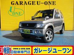パジェロミニアニバーサリーリミテッド− 4WD ターボ キーレス