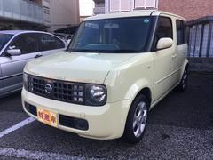 キューブEX 衝突安全ボディ スマートキー ベンチシート ABS