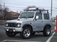 ジムニーランドベンチャー 4WDターボ オーバーフェンダー 社外AW