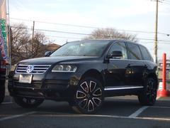 VW トゥアレグV6 4WD レザーシート 22インチAW
