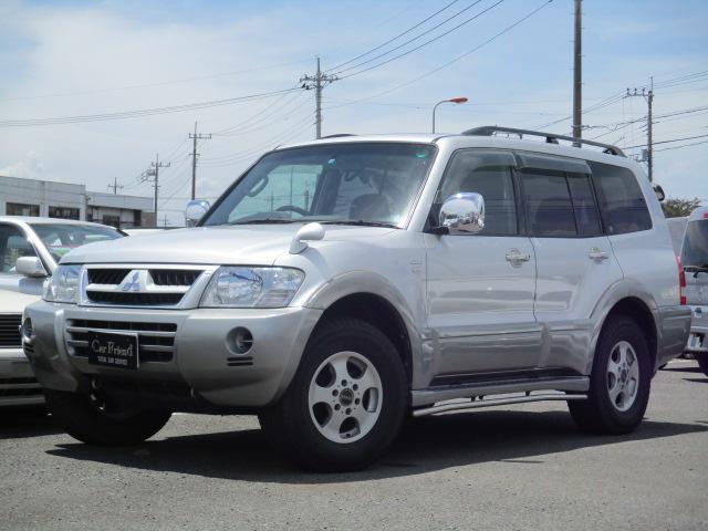 三菱 ロング エクシード-I サンルーフ 4WD 社外AW