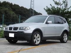 BMW X32.5i 社外ナビ キーレス