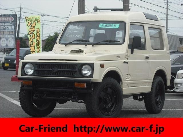 スズキ ジムニー EC パノラミックルーフ 4WDターボ 5MT フロントリアバンパー テール シートカバー