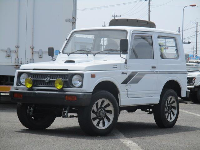 スズキ ジムニー HA リフトアップ 社外16AW 5速マニュアル 4WDターボ