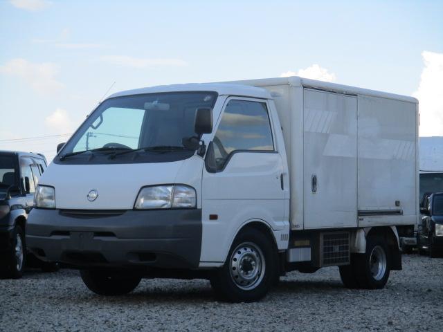 日産  冷蔵冷凍車 3人載り パワステ パワーウインドウ エアコン NOXPM適合 荷台サーモキング製