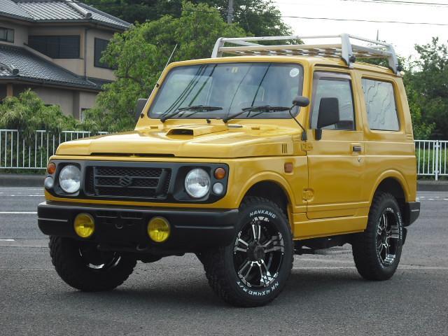 スズキ ジムニー ランドベンチャー 4WDターボ エアバック 社外15AW ルーフキャリア